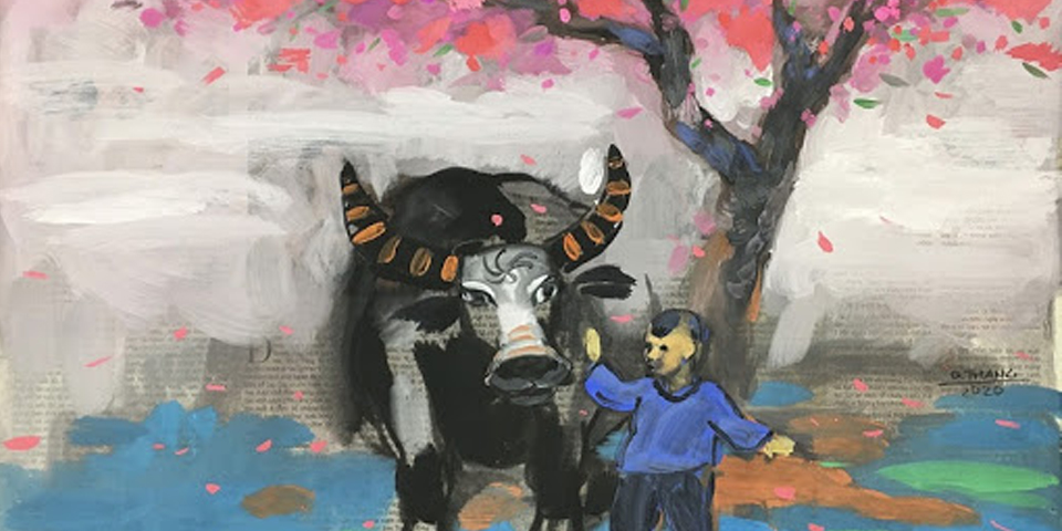 Buffalo-themed exhibition welcomes Lunar New Year